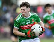 5 July 2019; Owen McHale of Mayo during the Electric Ireland Connacht GAA Football Minor Championship Final match between Galway and Mayo at Tuam Stadium in Tuam, Galway. Photo by Matt Browne/Sportsfile