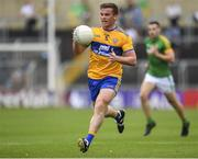 7 July 2019; Seán Collins of Clare during the GAA Football All-Ireland Senior Championship Round 4 match between Meath and Clare at O'Moore Park in Portlaoise, Laois. Photo by Sam Barnes/Sportsfile