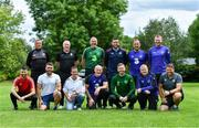 9 July 2019; SSE Airtricity League and Só Hotels Women's National League representatives during a UEFA Pro Licence Course at Johnstown House in Enfield, Meath. Photo by Piaras Ó Mídheach/Sportsfile