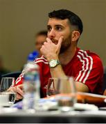 9 July 2019; Declan Colman of Cobh Ramblers during a UEFA Pro Licence Course at Johnstown House in Enfield, Meath. Photo by Piaras Ó Mídheach/Sportsfile