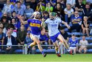 9 July 2019; Ian Beecher of Waterford in action against Ciarán Connolly of Tipperary during the Bord Gáis Energy Munster GAA Hurling Under 20 Championship Semi-Final match between Tipperary and Waterford at Semple Stadium in Thurles, Tipperary. Photo by Piaras Ó Mídheach/Sportsfile