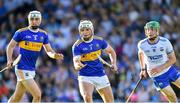 9 July 2019; Ciarán Connolly of Tipperary, supported by team-mate Michael Purcell, left, in action against Tom Barron of Waterford during the Bord Gáis Energy Munster GAA Hurling Under 20 Championship Semi-Final match between Tipperary and Waterford at Semple Stadium in Thurles, Tipperary. Photo by Piaras Ó Mídheach/Sportsfile
