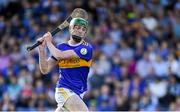 9 July 2019; Joe Fogarty of Tipperary shoots to score his side's third goal during the Bord Gáis Energy Munster GAA Hurling Under 20 Championship Semi-Final match between Tipperary and Waterford at Semple Stadium in Thurles, Tipperary. Photo by Piaras Ó Mídheach/Sportsfile