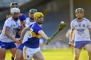 9 July 2019; Andrew Ormond of Tipperary gets away from Waterford defenders during the Bord Gáis Energy Munster GAA Hurling Under 20 Championship Semi-Final match between Tipperary and Waterford at Semple Stadium in Thurles, Tipperary. Photo by Piaras Ó Mídheach/Sportsfile