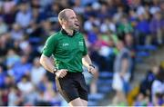 9 July 2019; Referee Johnny Murphy during the Bord Gáis Energy Munster GAA Hurling Under 20 Championship Semi-Final match between Tipperary and Waterford at Semple Stadium in Thurles, Tipperary. Photo by Piaras Ó Mídheach/Sportsfile