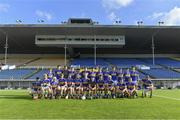9 July 2019; The Tipperary squad before the Bord Gáis Energy Munster GAA Hurling Under 20 Championship Semi-Final match between Tipperary and Waterford at Semple Stadium in Thurles, Tipperary. Photo by Piaras Ó Mídheach/Sportsfile
