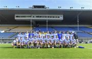 9 July 2019; The Waterford squad before the Bord Gáis Energy Munster GAA Hurling Under 20 Championship Semi-Final match between Tipperary and Waterford at Semple Stadium in Thurles, Tipperary. Photo by Piaras Ó Mídheach/Sportsfile