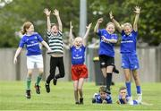 10 July 2019; Participants during the Bank of Ireland Leinster Rugby Summer Camp at Greystones RFC in Greysrones, Wicklow. Photo by Matt Browne/Sportsfile