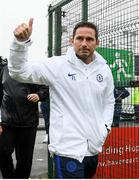 10 July 2019; Chelsea manager Frank Lampard arrives for a friendly match between Bohemians and Chelsea at Dalymount Park in Dublin. Photo by Ramsey Cardy/Sportsfile