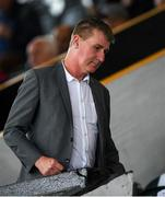 10 July 2019; Republic of Ireland U21 manager and former Dundalk FC manager Stephen Kenny ahead of the UEFA Champions League First Qualifying Round 1st Leg match between Dundalk and Riga at Oriel Park in Dundalk, Co Louth. Photo by Eóin Noonan/Sportsfile