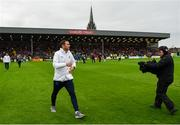10 July 2019; Chelsea manager Frank Lampard ahead of a friendly match between Bohemians and Chelsea at Dalymount Park in Dublin. Photo by Ramsey Cardy/Sportsfile