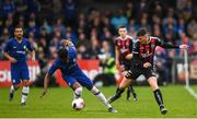 10 July 2019; Ryan Graydon of Bohemians in action against Dujon Sterling of Chelsea during a friendly match between Bohemians and Chelsea at Dalymount Park in Dublin. Photo by Ramsey Cardy/Sportsfile