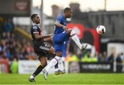 10 July 2019; Marc Guehi of Chelsea in action against Andre Wright of Bohemians during a friendly match between Bohemians and Chelsea at Dalymount Park in Dublin. Photo by Ramsey Cardy/Sportsfile