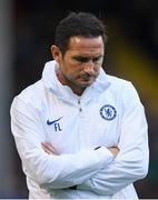 10 July 2019; Chelsea manager Frank Lampard during a friendly match between Bohemians and Chelsea at Dalymount Park in Dublin. Photo by Ramsey Cardy/Sportsfile
