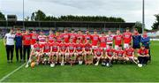 10 July 2019; The Cork team prior to the Bord Gais Energy Munster GAA Hurling Under 20 Championship semi-final match between Cork and Clare at Páirc Ui Rinn in Cork. Photo by Brendan Moran/Sportsfile