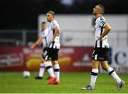 10 July 2019; Michael Duffy of Dundalk following the UEFA Champions League First Qualifying Round 1st Leg match between Dundalk and Riga at Oriel Park in Dundalk, Co Louth. Photo by Eóin Noonan/Sportsfile