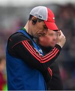 10 July 2019; Mayo manager Mike Solan during the EirGrid Connacht GAA Football U20 Championship final match between Galway and Mayo at Tuam, Co. Galway. Photo by Sam Barnes/Sportsfile