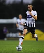 10 July 2019; Michael Duffy of Dundalk during the UEFA Champions League First Qualifying Round 1st Leg match between Dundalk and Riga at Oriel Park in Dundalk, Co Louth. Photo by Eóin Noonan/Sportsfile