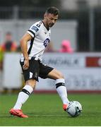 10 July 2019; Andy Boyle of Dundalk during the UEFA Champions League First Qualifying Round 1st Leg match between Dundalk and Riga at Oriel Park in Dundalk, Co Louth. Photo by Eóin Noonan/Sportsfile