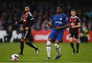 10 July 2019; Dujon Sterling of Chelsea during a friendly match between Bohemians and Chelsea at Dalymount Park in Dublin. Photo by Ramsey Cardy/Sportsfile