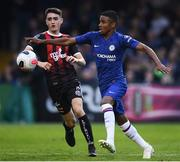 10 July 2019; Ian Maatsen of Chelsea during a friendly match between Bohemians and Chelsea at Dalymount Park in Dublin. Photo by Ramsey Cardy/Sportsfile