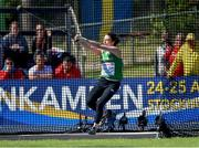 11 July 2019; Michaela Walsh of Ireland competes in the women's Shot and Hammer on day one of the European U23 Athletics Championships at the Gunder Hägg Stadium in Gävle, Sweden. Photo by Giancarlo Colombo/Sportsfile