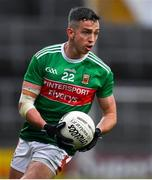 6 July 2019; Evan Regan of Mayo during the GAA Football All-Ireland Senior Championship Round 4 match between Galway and Mayo at the LIT Gaelic Grounds in Limerick. Photo by Brendan Moran/Sportsfile