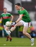 6 July 2019; Patrick Durcan of Mayo during the GAA Football All-Ireland Senior Championship Round 4 match between Galway and Mayo at the LIT Gaelic Grounds in Limerick. Photo by Brendan Moran/Sportsfile