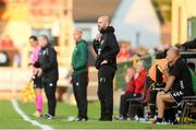 11 July 2019; Progrès Niederkorn manager Roland Vrabec during the UEFA Europa League First Qualifying Round 1st Leg match between Cork City and Progres Niederkorn at Turners Cross in Cork. Photo by Eóin Noonan/Sportsfile