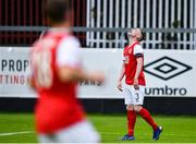 11 July 2019; Ian Bermingham of St Patricks Athletic reacts after a missed chance during the UEFA Europa League First Qualifying Round 1st Leg match between St Patrick's Athletic and IFK Norrköping at Richmond Park in Inchicore, Dublin. Photo by Sam Barnes/Sportsfile