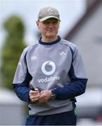 12 July 2019; Head coach Joe Schmidt during an Ireland Rugby open training session at the Sportsground in Galway. Photo by Matt Browne/Sportsfile
