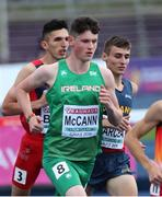 11 July 2019; Luke McCann of Ireland competes in the Men's 1500m on day one of the European U23 Athletics Championships at the Gunder Hägg Stadium in Gävle, Sweden. Photo by Giancarlo Colombo/Sportsfile