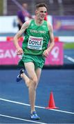11 July 2019; Cathal Doyle of Ireland competes in the Men's 1500m on day one of the European U23 Athletics Championships at the Gunder Hägg Stadium in Gävle, Sweden. Photo by Giancarlo Colombo/Sportsfile