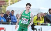 12 July 2019; Mark Smyth of Ireland competes in the 200m Men's Qualifying Rounds during day two of the European U23 Athletics Championships at the Gunder Hägg Stadium in Gävle, Sweden. Photo by Giancarlo Colombo/Sportsfile