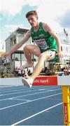 12 July 2019; Paul O'Donnell of Ireland competes in the 3000m Steeplechase Men's Qualifying Rounds during day two of the European U23 Athletics Championships at the Gunder Hägg Stadium in Gävle, Sweden. Photo by Giancarlo Colombo/Sportsfile