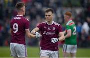 10 July 2019; Darragh Silke of Galway, right, and Michael Collins celebrate at the final whistle following the EirGrid Connacht GAA Football U20 Championship final match between Galway and Mayo at Tuam, Co. Galway. Photo by Sam Barnes/Sportsfile