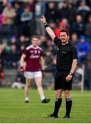10 July 2019; Referee Paddy Neilan during the EirGrid Connacht GAA Football U20 Championship final match between Galway and Mayo at Tuam, Co. Galway. Photo by Sam Barnes/Sportsfile