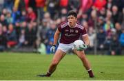 10 July 2019; Michael Culhane of Galway during the EirGrid Connacht GAA Football U20 Championship final match between Galway and Mayo at Tuam, Co. Galway. Photo by Sam Barnes/Sportsfile