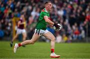 10 July 2019; Eoghan McLaughlin of Mayo during the EirGrid Connacht GAA Football U20 Championship final match between Galway and Mayo at Tuam, Co. Galway. Photo by Sam Barnes/Sportsfile