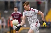 10 July 2019; Oran Burke of Galway during the EirGrid Connacht GAA Football U20 Championship final match between Galway and Mayo at Tuam, Co. Galway. Photo by Sam Barnes/Sportsfile