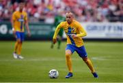 11 July 2019; Gudmundur Thórarinsson of IFK Norrköping during the UEFA Europa League First Qualifying Round 1st Leg match between St Patrick's Athletic and IFK Norrköping at Richmond Park in Inchicore, Dublin. Photo by Sam Barnes/Sportsfile