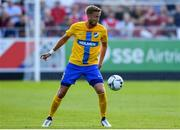 11 July 2019; Kasper Larsen of IFK Norrköping during the UEFA Europa League First Qualifying Round 1st Leg match between St Patrick's Athletic and IFK Norrköping at Richmond Park in Inchicore, Dublin. Photo by Sam Barnes/Sportsfile