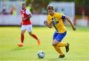 11 July 2019; Alexander Fransson of IFK Norrköping during the UEFA Europa League First Qualifying Round 1st Leg match between St Patrick's Athletic and IFK Norrköping at Richmond Park in Inchicore, Dublin. Photo by Sam Barnes/Sportsfile