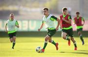 13 July 2019; Lee O'Connor during a Republic of Ireland training session prior to the start of the 2019 UEFA European U19 Championships at the FFA Technical Centre in Yerevan, Armenia. Photo by Stephen McCarthy/Sportsfile