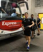 13 July 2019; Dublin captain Stephen Cluxton arrives for the GAA Football All-Ireland Senior Championship Quarter-Final Group 2 Phase 1 match between Dublin and Cork at Croke Park in Dublin. Photo by Ray McManus/Sportsfile
