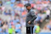 13 July 2019; Dublin manager Jim Gavin ahead of the GAA Football All-Ireland Senior Championship Quarter-Final Group 2 Phase 1 match between Dublin and Cork at Croke Park in Dublin. Photo by Eóin Noonan/Sportsfile