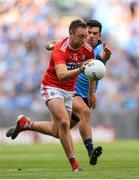 13 July 2019; Paul Kerrigan of Cork in action against Cian O'Sullivan of Dublin during the GAA Football All-Ireland Senior Championship Quarter-Final Group 2 Phase 1 match between Dublin and Cork at Croke Park in Dublin. Photo by Eóin Noonan/Sportsfile