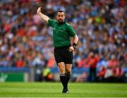 13 July 2019; Referee David Gough during the GAA Football All-Ireland Senior Championship Quarter-Final Group 2 Phase 1 match between Dublin and Cork at Croke Park in Dublin. Photo by Ray McManus/Sportsfile