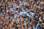13 July 2019; Dublin supporters on Hill 16 before the GAA Football All-Ireland Senior Championship Quarter-Final Group 2 Phase 1 match between Dublin and Cork at Croke Park in Dublin. Photo by Ray McManus/Sportsfile