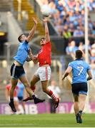 13 July 2019; Ian Maguire of Cork in action against Brian Fenton of Dublin during the GAA Football All-Ireland Senior Championship Quarter-Final Group 2 Phase 1 match between Dublin and Cork at Croke Park in Dublin. Photo by Eóin Noonan/Sportsfile